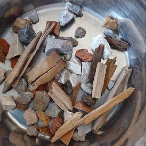 Austrag Holz+Gips nach erster Sortierstufe (NIR)
