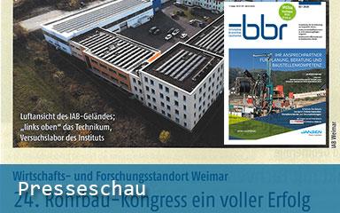 Bild Teaser Presseschau IAB Weimar