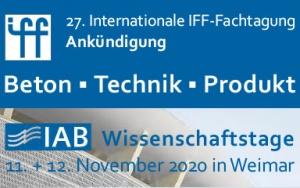 Bild Banner Ankündigung 27. Internationale IFF-Fachtagung