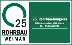 Bild Banner 25. Rohrbau-Kongress in Weimar