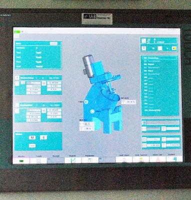 Intensivmischer R 05T der Fa. Maschinenfabrik Gustav Eirich GmbH & Co KG