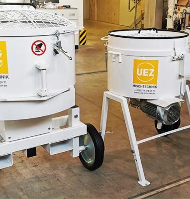 Tellermischer MZ der Fa. UEZ MIschtechnik GmbH