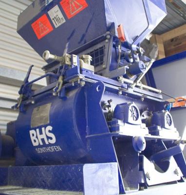 Doppelwellenmischer DKXs 0,06 der Fa. BHS Sonthofen GmbH
