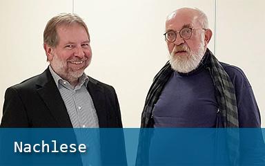 Bild Verabschiedung des IAB-Mitarbeiters Dietmar Wesser