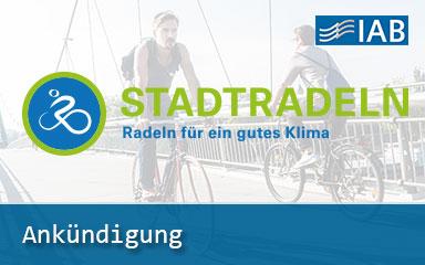 Bild Ankündigung IAB nimmt am STADTRADELN Wettbewerb 2020 teil