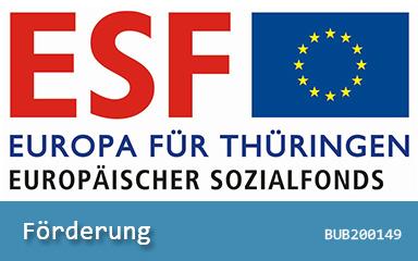 BNild Banner ESF-Förderung BUB200149 IAB Weimar gGmbH