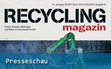 Bild IAB Presseschau Bauschutt im freien Fall Recycling Magagzin