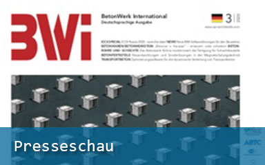 Bild Banner Presseschau BetonWerk International 03/2020