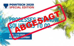 Bild Banner Absage Powtech 2020 Special Edition