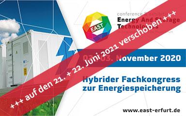 Bild Banner EAST Erfurt auf 2021 verschoben