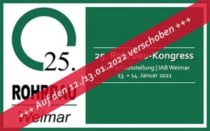 Bild 25. Rohrbau-Kongress in Weimar verschoben