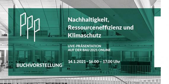 Bild Buchvorstellung auf der BAU 2021 Online