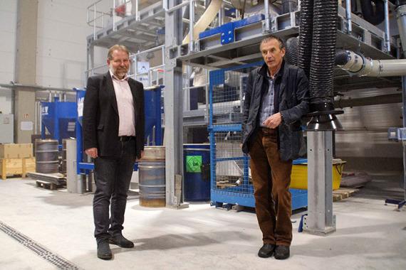 Bild Dr. Ulrich Palzer (IAB) und Dr. Peter Miethe (FTVT)