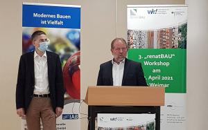 Bild Prof. Dr. Carsten Könke & Dr. Ulrich Palzer