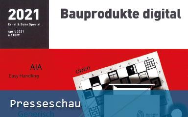Bild IAB-Presseschau Bauprodukte digital